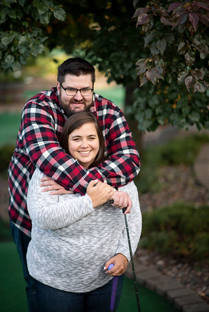 Taylor + Patrick | Wisconsin Fall Lake Engagement Session