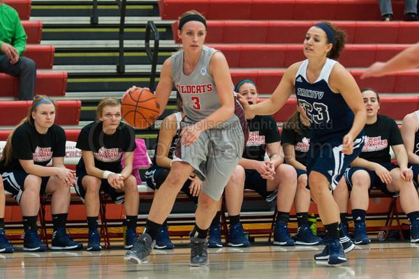 11/8/13 Women's Basketball vs. Trinity