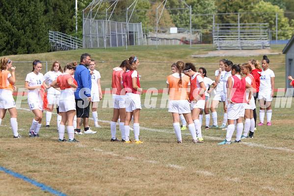 Robert VanEtten Girls Soccer Championship Eldred vs. Monticello 9-17-16