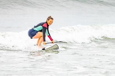 Kelly SUPing Long Beach 8-3-21
