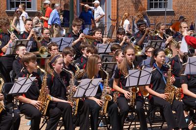 OMS Jazz Band Williamsburg Trip