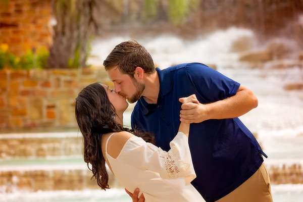 Stephanie and Brandon Engagement Photo Shoot