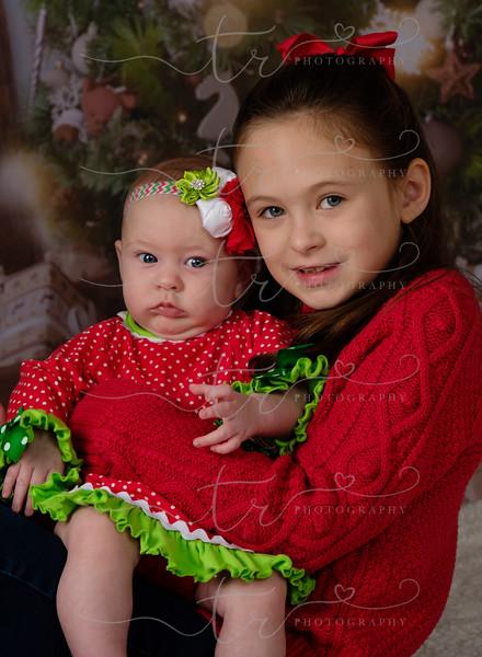 Chrissy and Catherine~Christmas Mini