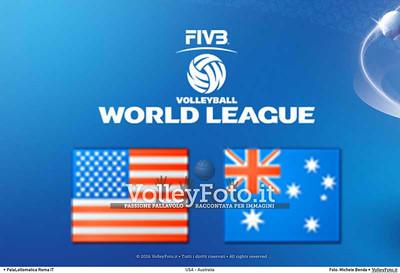 USA-AUSTRALIA [USA-AUS] #FIVBWorldLeague