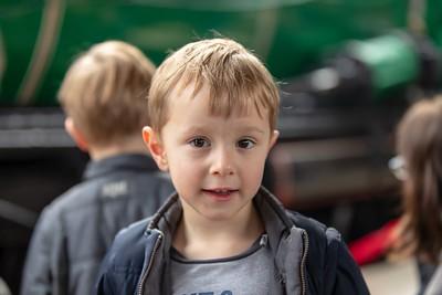 Boy's 4th Birthday (Steam at Central)
