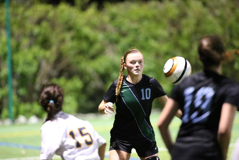 Girls Soccer.  Ransom vs. Carrollton,  Ransom won