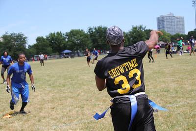 CBL Sports Coed Flag Football Spring 2012 Week 5