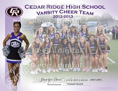 CR Cheer Team Banquet 2013