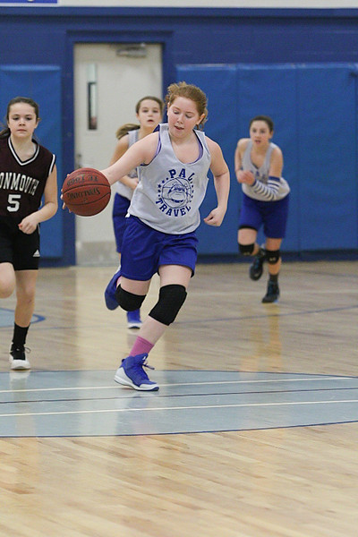 Lawrence  Girls 6th Vs. Monmouth