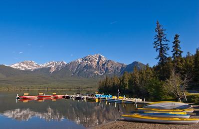 Pyramid Lake - Banff Nat'l Park
