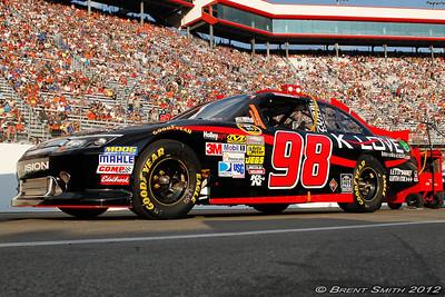 Bristol Motor Speedway August 25, 2012