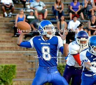 08-02-14 Moanalua JV Football vs Pearl City Chargers Scrimmage Game.