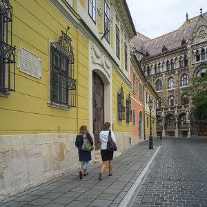 Lifestyle and People in Budapest