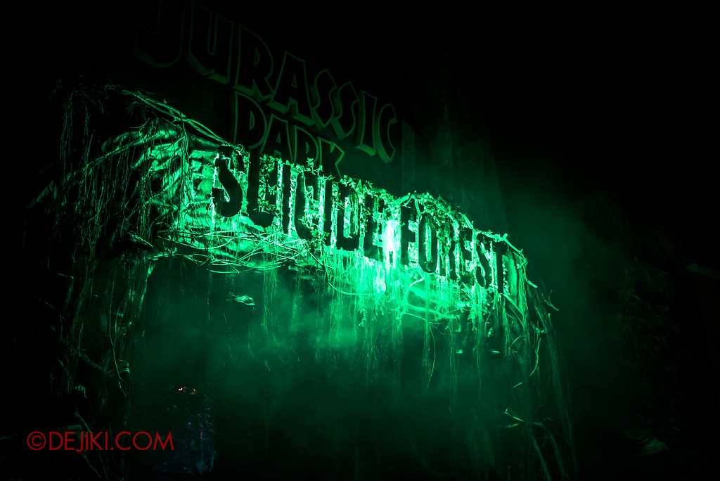 Halloween Horror Nights 6 Sneak Preview - Suicide Forest