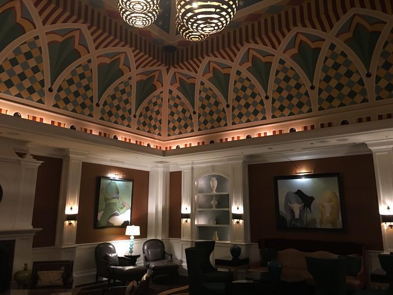 Lounge at the Kimpton Hotel Monaco