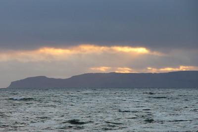 North Arran and Blackwaterfoot - 1 Janaury 2012