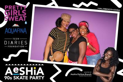 Aeshia's 90s Skate Party @ Sparkle
