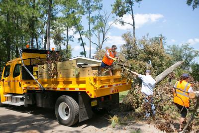 9-9-2016 Hurricane Hermine Clean Up