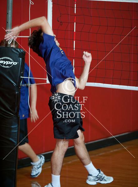2010-09-11 Volleyball Varsity Mens Kinkaid v HVA Houston Cup