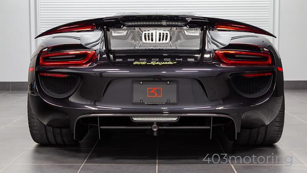 '15 918 Spyder #480 - Basalt Black