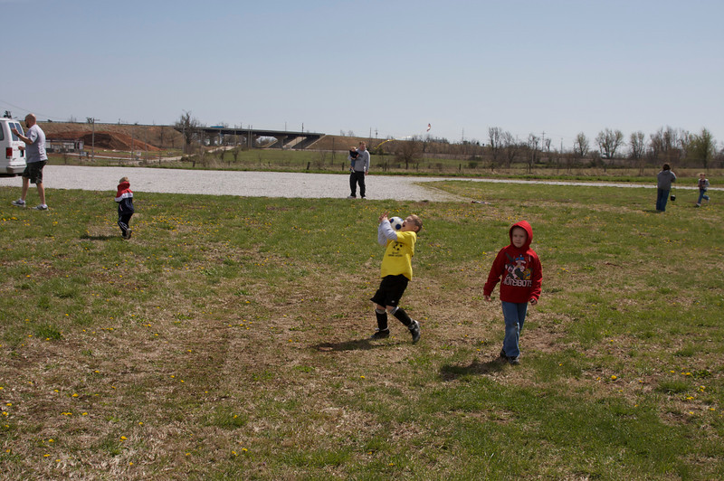 Brookline 3rd annual Kite fly / Easter Egg hunt