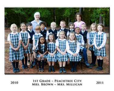 Peachtree City Elementary Class Photos