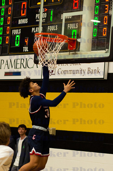 Central vs Fredericktown Men's High School Basketball