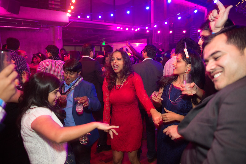 December 31, 2017. At The Foundry, an event space in Seattle's Fremont neighborhood, hundreds of Indian Expats, celebrate and gyrate to Indian popular music at the Bollywood New Year's Eve bash produced by Wicked Karma, a local company that specializes in producing events around India holidays and culture. While accurate numbers are hard to come by there is no question that the South Asian population in the Seattle area has grown dramatically as Microsoft, Amazon and dozens of other tech companies  have hired qualified workers from overseas. These highly educated newcomers bring not only their intellectual prowess to the city but have also added a whole new cultural scene as they put down roots in the Pacific Northwest.