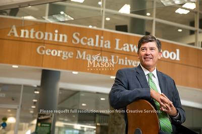 Antonin Scalia Law School portraits