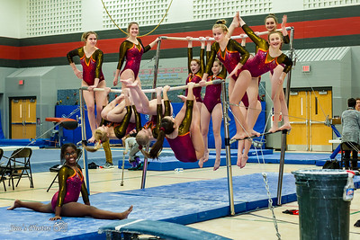 HS Sports - Verona/Mad Edgewood Gymnastics - Feb 08, 2018