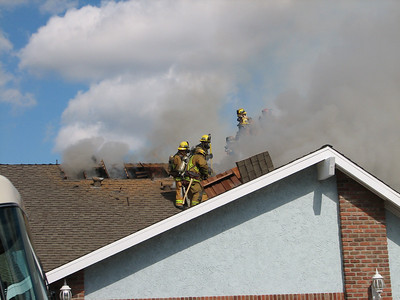 House fire in Cypress 2/20/11