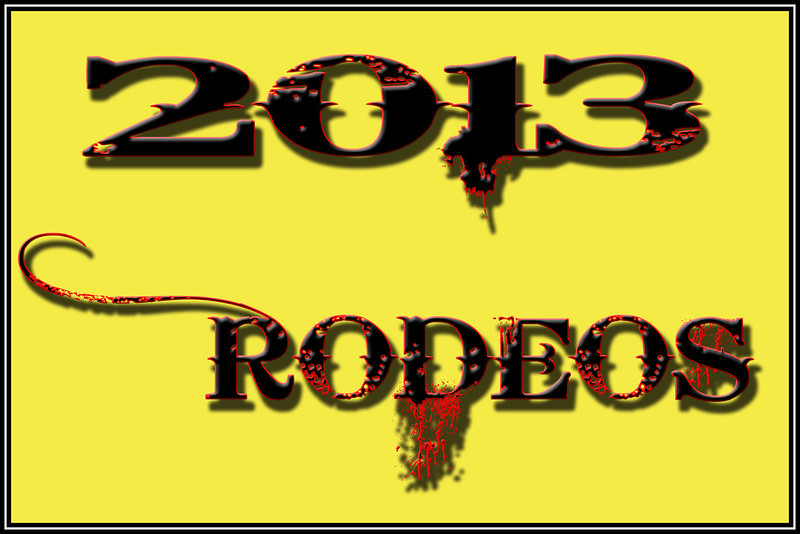 2013 RODEOS