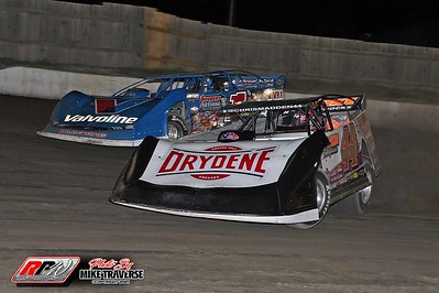 World of Outlaws Late Models/Pro Stocks at OCFS - 8/19/21 - Mike Traverse