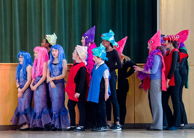 St. Joseph's School rehearses The Little Mermaid