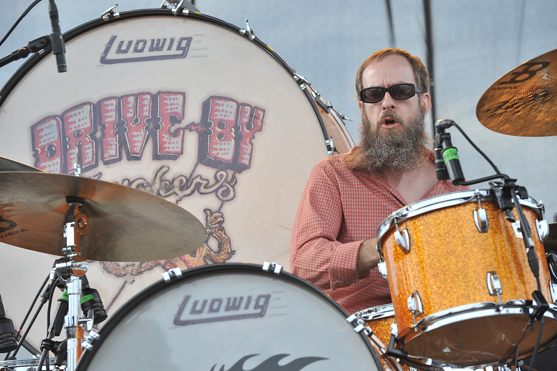 Drive By Truckers drummer Brad Morgan.