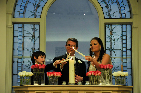 Family Vows, Unity Candle and Blessing