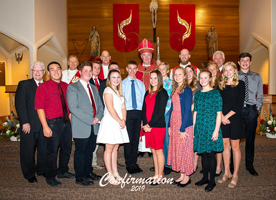 St Mary's Confirmation 2019