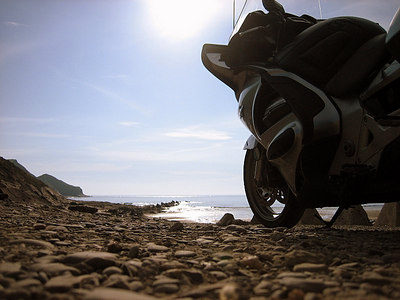 A summer evening's ride around Cornwall