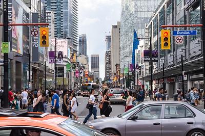 Toronto Street View, Ontario, Canada