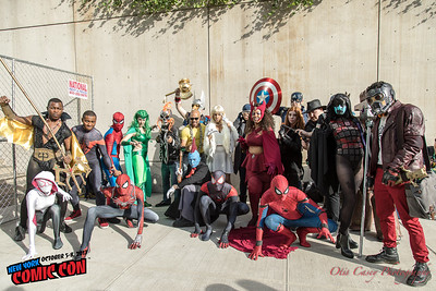 NY Comic Con 2017 Marvel Gathering (Saturday)