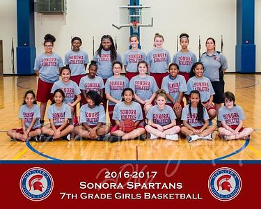 SMS Basketball- 7th Grade Girls