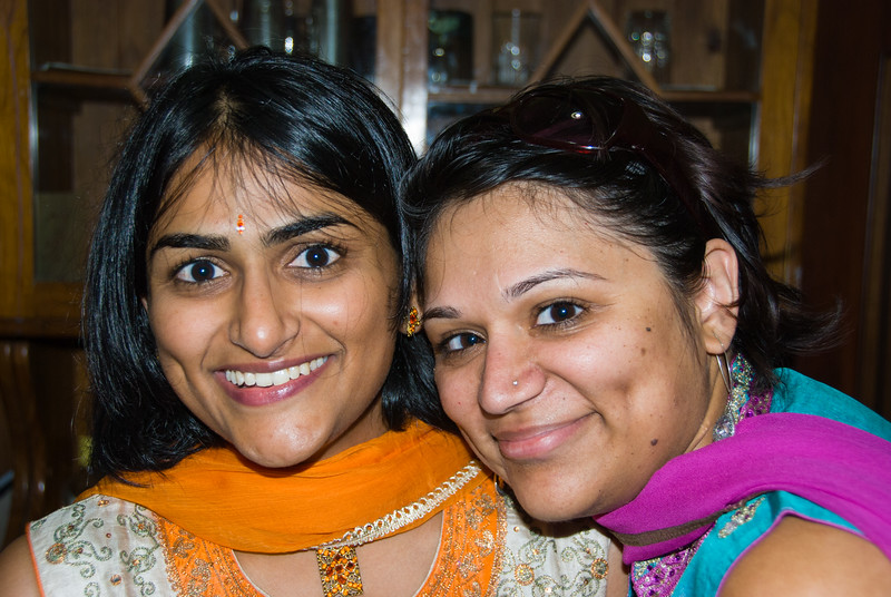 Bhumisha and Anisha