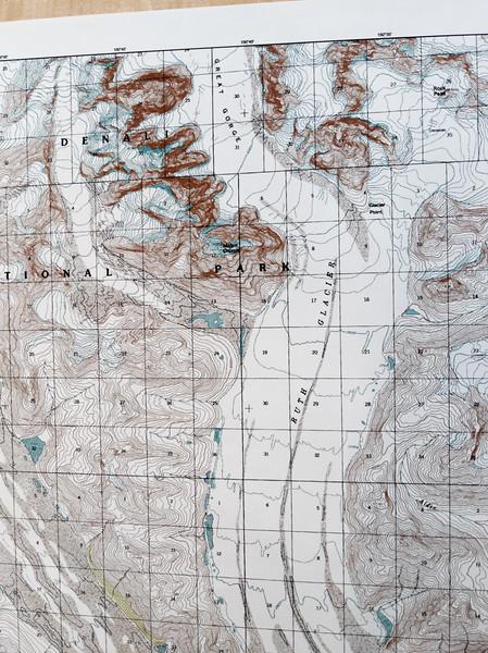 Destination: Ruth Glacier.