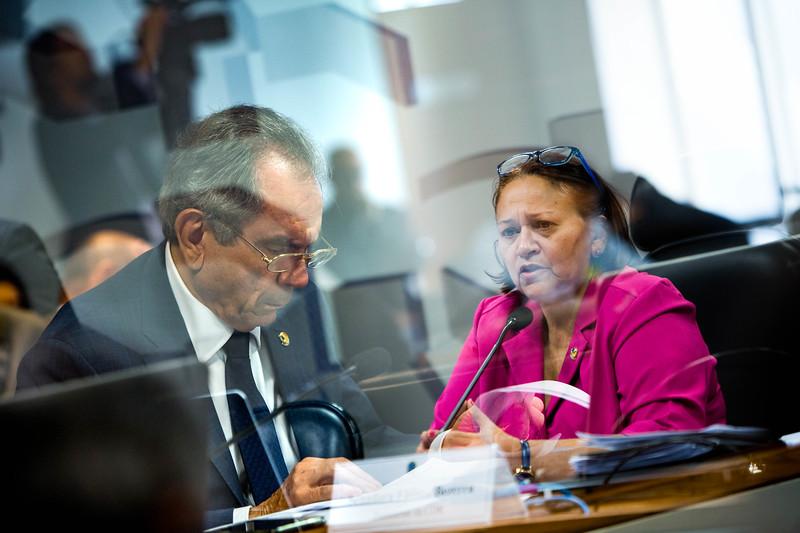 Senador Raimundo Lira e Senadora Fátima Bezerra