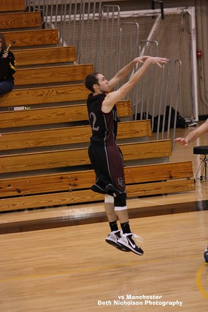 Earlham College vs Manchester College 1-26-11