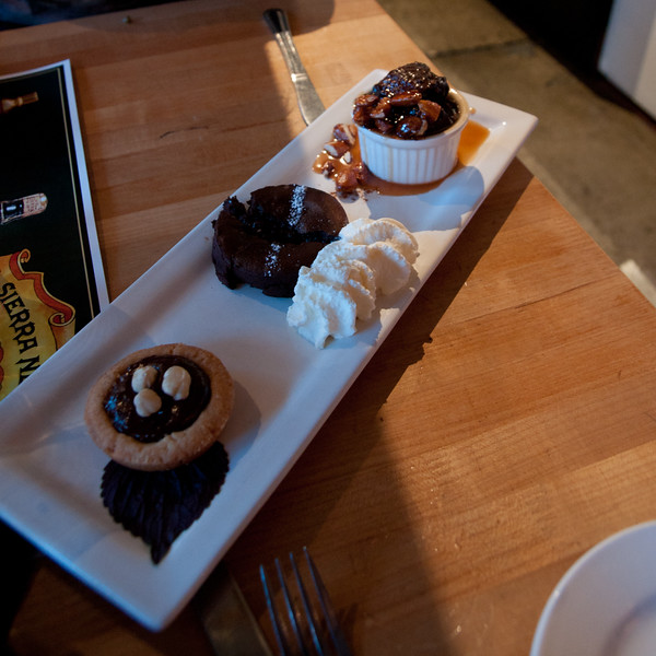 Dessert flights are awesome