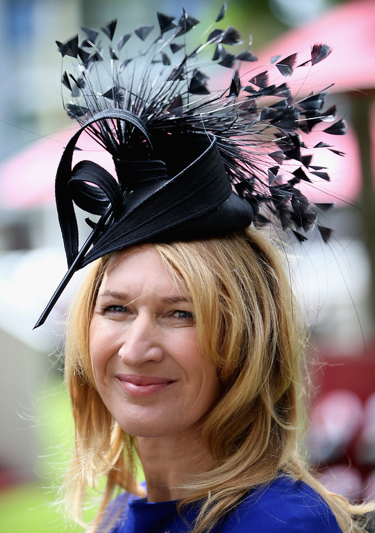 . Steffi Graf attends day one of Royal Ascot at Ascot Racecourse on June 17, 2014 in Ascot, England.  (Photo by Chris Jackson/Getty Images for Ascot Racecourse)
