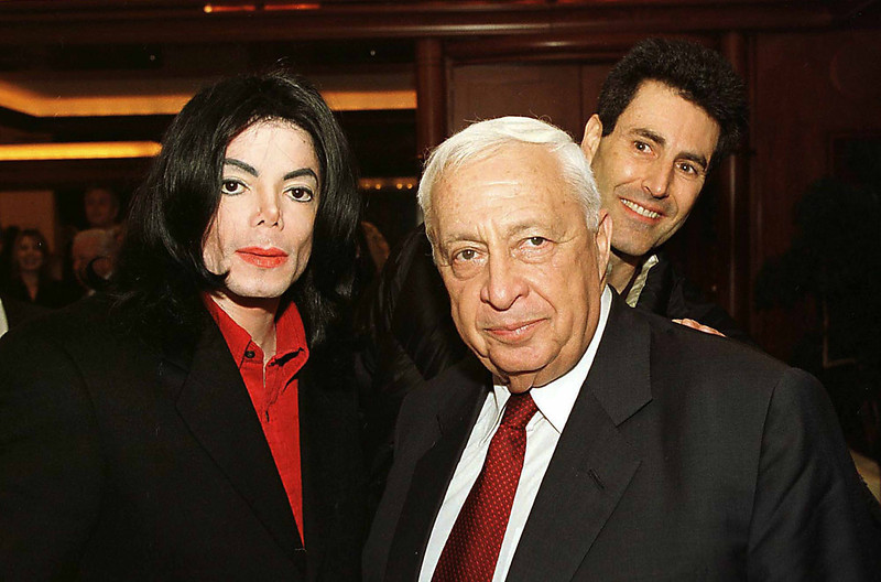 Michael Jackson and Ariel Sharon