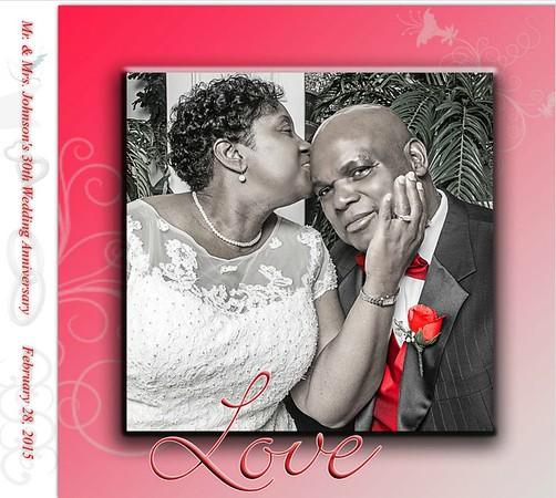 Mr. and Mrs. Johnson's 30th Anniversary