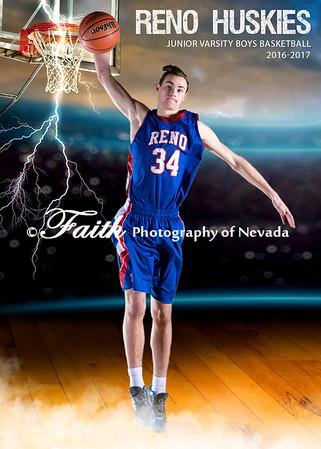 RHS JV BOYS Basketball Portraits